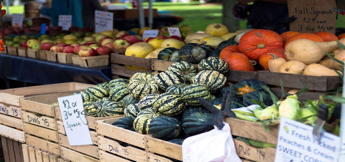 This Fall, choose farm fresh, choose healthy