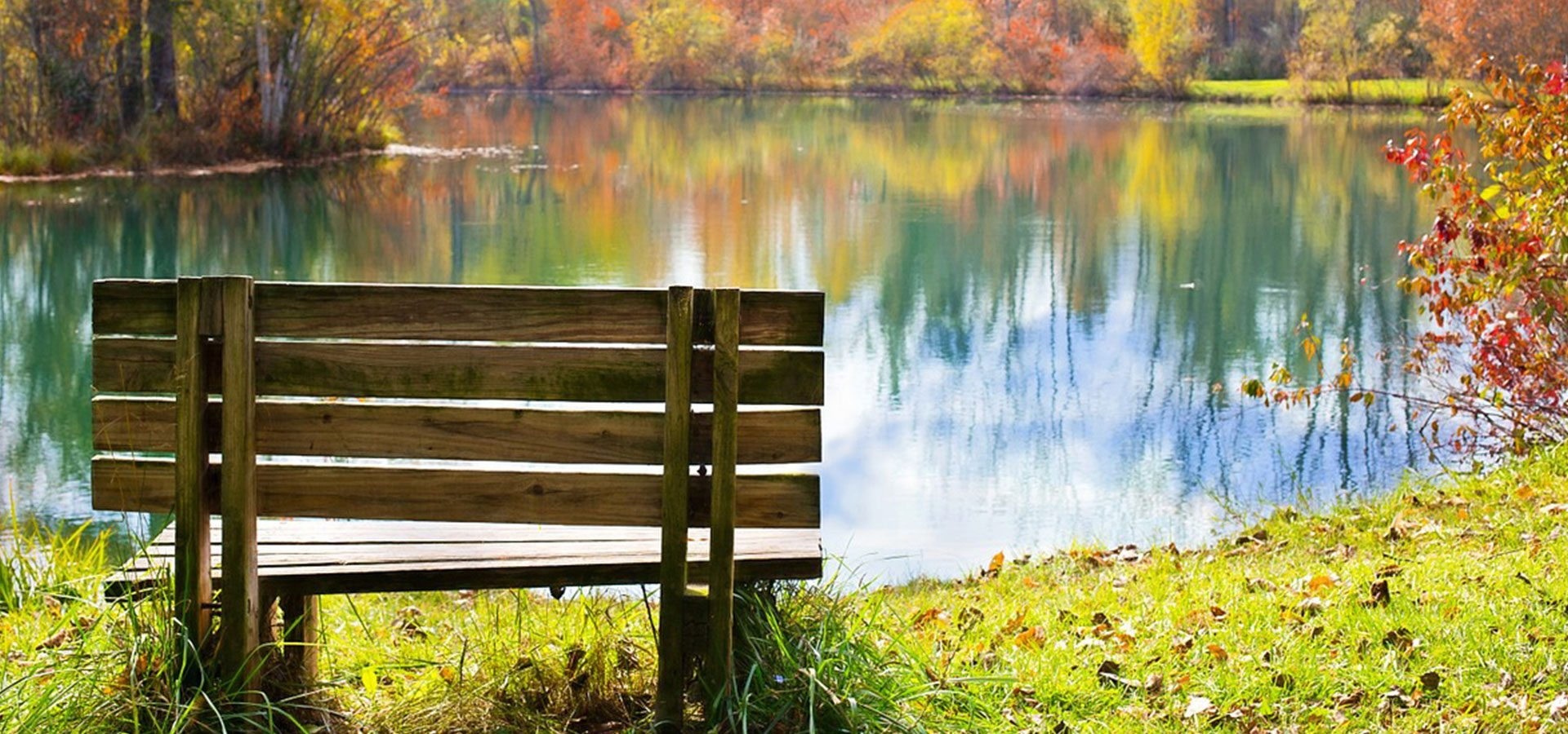 1920x900 wood bench autumn-lower