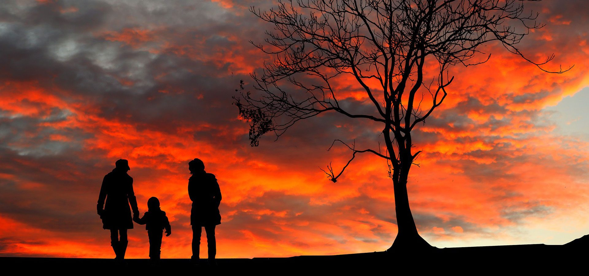 Family in Sunset 1920x900-60lower